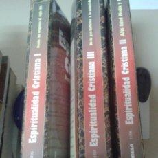 Libros de segunda mano: ESPIRITUALIDAD CRISTIANA.. Lote 78830149