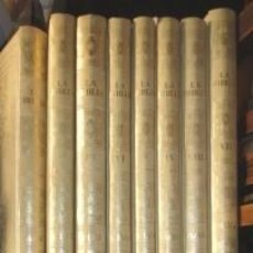 Libros de segunda mano: LA BIBLIA, SALVAT, 8 VOLÚMENES. Lote 79118881