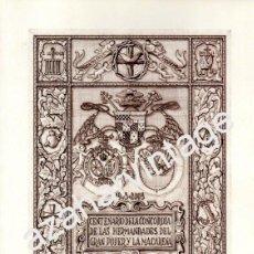 Libros de segunda mano: SEMANA SANTA SEVILLA,2003,CENTENARIO CONCORDIA HERMANDADES GRAN PODER Y MACARENA,162 PAGINAS. Lote 79164201