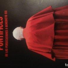 Libros de segunda mano: LOTE CÉSAR VIDAL PONTÍFICES.DE LAS PERSECUCIONES A BENEDICTO XVI Y MENTIRAS DE LA HISTORIA...DE USO. Lote 79759541
