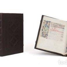 Libros de segunda mano: LIBRO DE HORAS DE ROUEN, S. XV. Lote 80156181