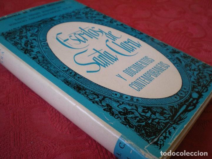 Libros de segunda mano: ESCRITOS DE SANTA CLARA. BILINGÜE LATÍN CASTELLANO. BAC. BIBLIOTECA DE AUTORES CRISTIANOS 314 - Foto 2 - 80287245