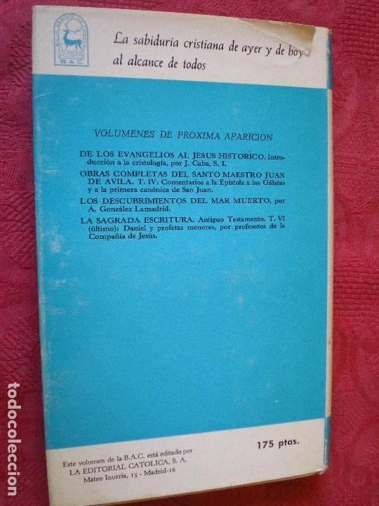Libros de segunda mano: ESCRITOS DE SANTA CLARA. BILINGÜE LATÍN CASTELLANO. BAC. BIBLIOTECA DE AUTORES CRISTIANOS 314 - Foto 3 - 80287245