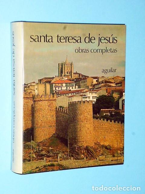 OBRAS COMPLETAS DE SANTA TERESA DE JESÚS (Libros de Segunda Mano - Religión)