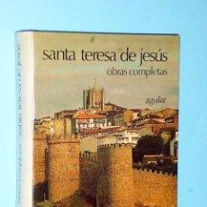 Libros de segunda mano: OBRAS COMPLETAS DE SANTA TERESA DE JESÚS. Lote 81251496