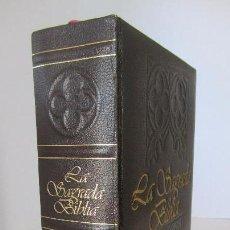 Libros de segunda mano: LA SAGRADA BIBLIA DE PLAZA & JANES - EDICION FACSIMIL DE MONTANER Y SIMON. Lote 81555792