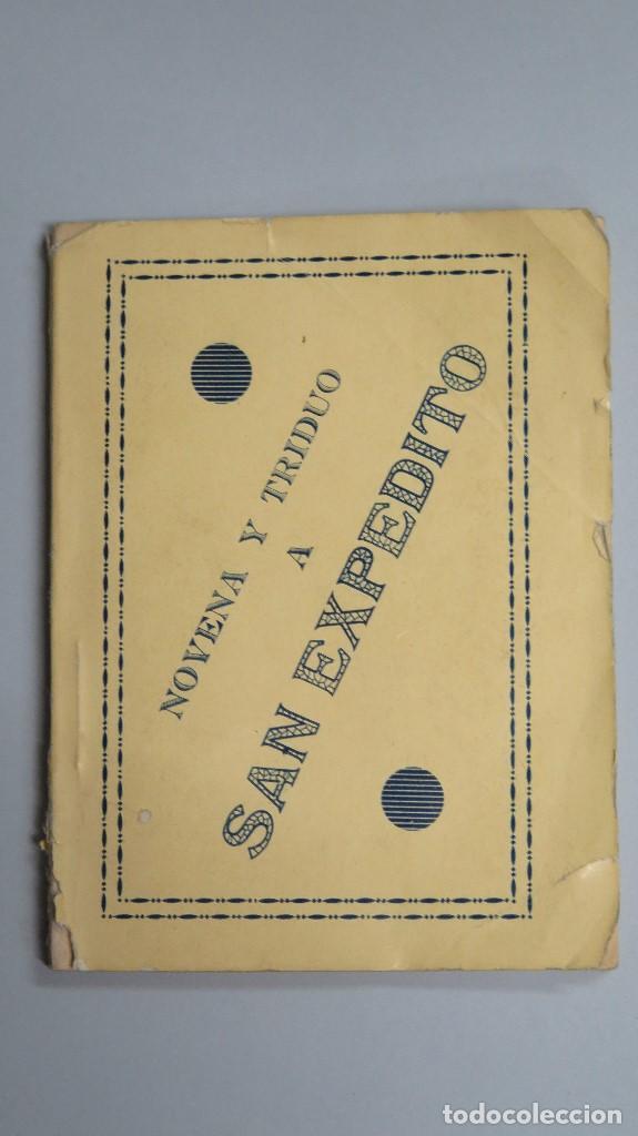 NOVENA Y TRIDUO EN HONOR DE SAN EXPEDITO. MADRID (Libros de Segunda Mano - Religión)