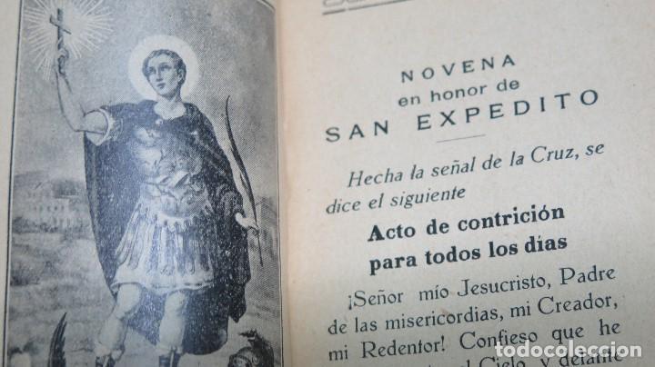 Libros de segunda mano: NOVENA Y TRIDUO EN HONOR DE SAN EXPEDITO. MADRID - Foto 3 - 81646008