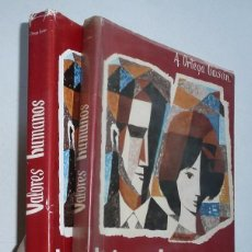 Libros de segunda mano: VALORES HUMANOS (VOL. II Y III) - A. ORTEGA GAISÁN (EDITORIAL EROS, VITORIA, 1965). Lote 83043840