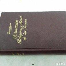 Libros de segunda mano: FORMACION RELIGIOSA Y MORAL DE LAS JOVENES - BEAUDENOM-VERSION ANTONIO TOMAS-ED3ª 1959 SUBIRANA. Lote 83328924
