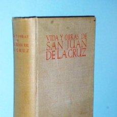 Libros de segunda mano: VIDA Y OBRAS DE SAN JUAN DE LA CRUZ. Lote 83575792