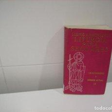 Libros de segunda mano: LITURGIA PARA SEGLARES. Lote 84496448