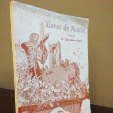 Libros de segunda mano: SEMANA SANTA CACEREÑA - FLORES DE PASION - JUAN PABLOS ABRIL CON DEDICATORIA DEL AUTOR CACERES. Lote 84869424