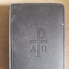 Libros de segunda mano: MISSAL ROMÀ LLATÍ-CATALÀ / EDITORIAL BALMES / 4ª EDICIÓN 1964. Lote 85214736