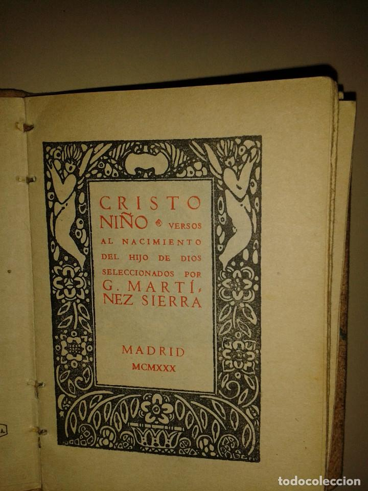 Libros de segunda mano: CRISTO NIÑO. - Foto 2 - 96476384