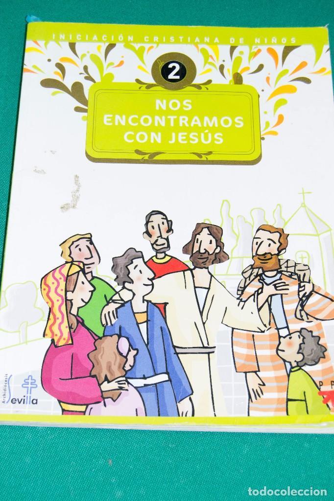 NOS ENCONTRAMOS CON JESÚS (INICIACIÓN CRISTIANA DE NIÑOS) (Libros de Segunda Mano - Religión)