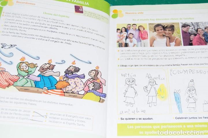 Libros de segunda mano: NOS ENCONTRAMOS CON JESÚS (INICIACIÓN CRISTIANA DE NIÑOS) - Foto 2 - 86212064
