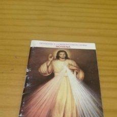 Libros de segunda mano: NOVENA A LA DIVINA MISERICORDIA. Lote 86586116
