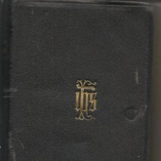 Libri di seconda mano: MISAL DIARIO Y VESPERAL POR DOM GASPAR LEFEBVRE O. S.B.(BRUJAS-BELGICA) 1946. (P/C8). Lote 271781438