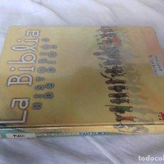 Libros de segunda mano: LA BIBLIA HISTORIA DE DIOS,ILUSTRACIONES J M GARCIA DE DIOS, M MENENDEZ-PONTE,SM -ADAPTACION JUVENIL. Lote 86949924