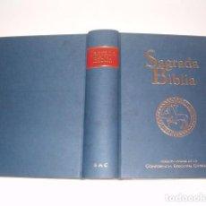 Libros de segunda mano: SAGRADA BIBLIA. VERSIÓN OFICIAL DE LA CONFERENCIA EPISCOPAL ESPAÑOLA. RM80999. . Lote 87063068