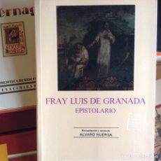 Libros de segunda mano: FRAY LUIS DE GRANADA. EPISTOLARIO. Lote 174402538