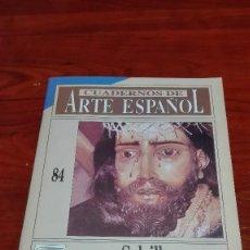 Livros em segunda mão: CUADERNOS DE ARTE ESPAÑOL FRANCISCO SALZILLO. Lote 87686100