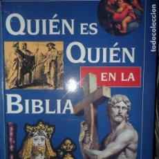 Libros de segunda mano: QUIÉN ES QUIÉN EN LA BIBLIA, DICCIONARIO BIOGRÁFICO ILUSTRADO, READER'S DIGEST. Lote 88144248