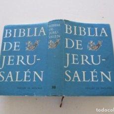 Libros de segunda mano: BIBLIA DE JERUSALÉN. RMT81110. . Lote 104721118