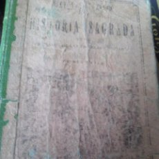 Libros de segunda mano: COMPENDIO DE HISTORIA SAGRADA - PRIMER CURSO - BRUÑO. Lote 88819556