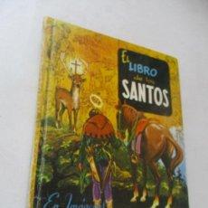 Libros de segunda mano: EL LIBRO DE LOS SANTOS EN IMÁGENES, NUEVO SANTORAL 365 PÁGINAS DE DIBUJOS-BARCELONA, 23 ABRIL 1970. Lote 89076292
