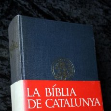 Libros de segunda mano: BIBLIA DE CATALUNYA - 1968 - EDITORIAL ALPHA. Lote 89434164