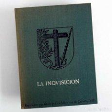 Libros de segunda mano: LA INQUISICIÓN. EXPOSICIÓN PALACIO VELÁZQUEZ 1982. Lote 89694640