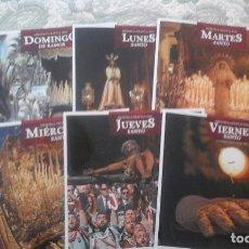 Libros de segunda mano: PASION DEL SUR 2017 MEMORIA GRAFICA DE CADA DIA DE PROCESIONES (1 A 6) (VER CONTENIDO). Lote 89741788