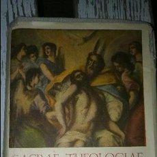 Libros de segunda mano: LIBRO SACRAE THEOLOGIAE SUMMA. VOL IV.. Lote 90112508