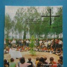 Libros de segunda mano: LIBRO DE RELIGION 2º DE BACHILLERATO.CATEQUESIS PARA ADOLESCENTES. ED. TEIDE. 2ª EDIC. 1977. Lote 90359204