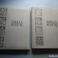 Libros de segunda mano: BIBLIA INFANTIL ILUSTRADA ANTIGUO Y NUEVO TESTAMENTO CREACIONES MONTAR JUVENIL. Lote 91162965