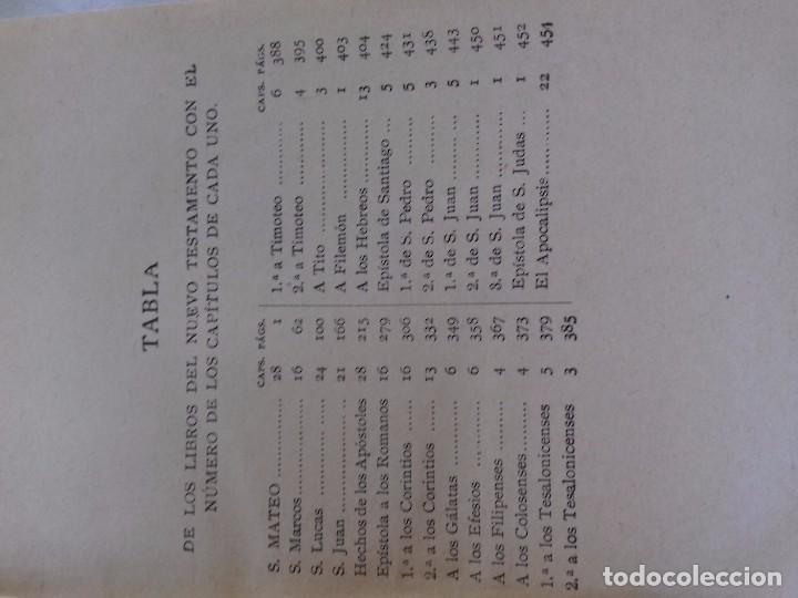 Libros de segunda mano: NUEVO TESTAMENTO-DEPOSITO CENTRAL DE LA SOCIEDAD BIBLICA B. Y E.-AÑO 1936 - Foto 5 - 91402250
