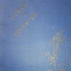Libros de segunda mano: PIEDAD Y JUVENTUD CANTICOS RELIGIOSOS ESCUELAS PIAS 1944. Lote 91961650
