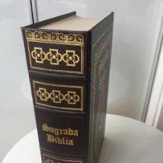 Libros de segunda mano: SAGRADA BIBLIA - OCEANO CON ILUSTRACIONES DE DORÉ. Lote 92465250