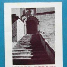 Libros de segunda mano: MEMORIA CORRESPONDIENTE A LOS AÑOS 1966-1970. FELIO A. VILARRUBIAS. ABADIA DE POBLET. Lote 93362855