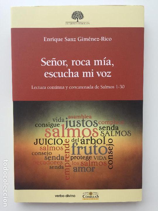 SEÑOR, ROCA MIA, ESCUCHA MI VOZ - ENRIQUE SANZ JIMENEZ-RICO - VERBO DIVINO - COMO NUEVO (Libros de Segunda Mano - Religión)