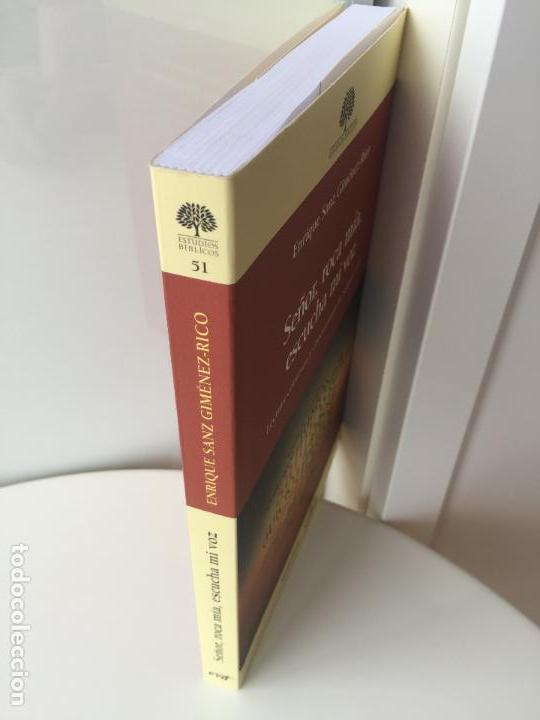Libros de segunda mano: SEÑOR, ROCA MIA, ESCUCHA MI VOZ - ENRIQUE SANZ JIMENEZ-RICO - VERBO DIVINO - COMO NUEVO - Foto 2 - 93700020