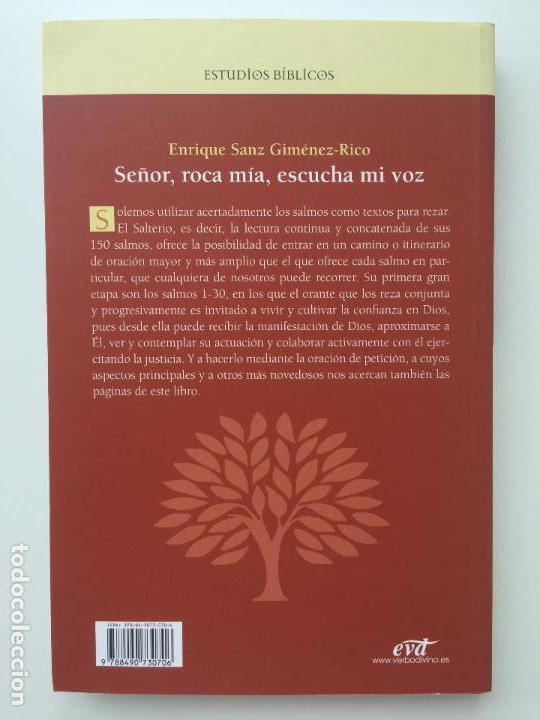 Libros de segunda mano: SEÑOR, ROCA MIA, ESCUCHA MI VOZ - ENRIQUE SANZ JIMENEZ-RICO - VERBO DIVINO - COMO NUEVO - Foto 3 - 93700020