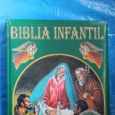 Libros de segunda mano: BIBLIA INFANTIL, HISTORIAS DEL ANTIGUO TESTAMENTO, EDICIONES SALDAÑA. Lote 128531618