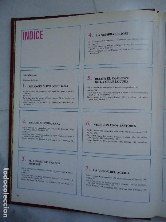 Libros de segunda mano: LIbro. JESUCRISTO. TOMO 1º CON CIENTOS DE FOTOGRAFÍAN BIBLIOTECA SUTORES CRISTIANOS MIÑON - Foto 4 - 94415494