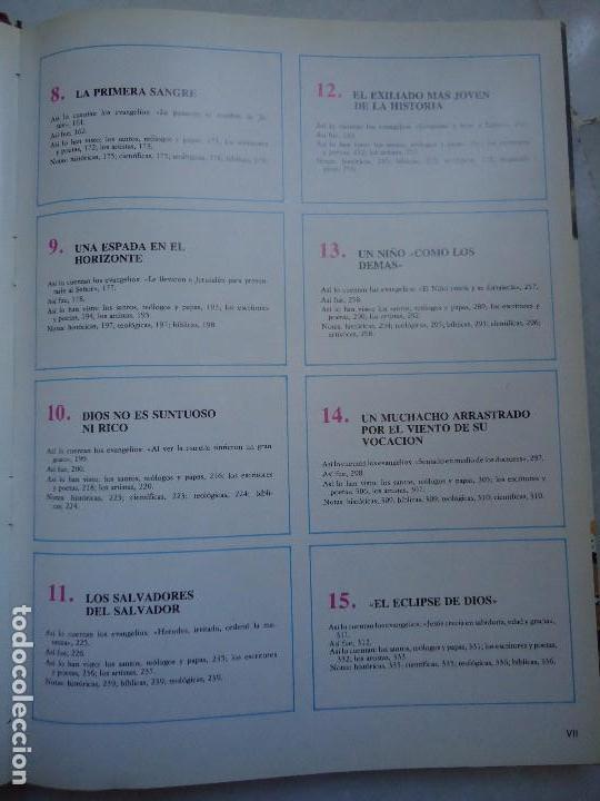 Libros de segunda mano: LIbro. JESUCRISTO. TOMO 1º CON CIENTOS DE FOTOGRAFÍAN BIBLIOTECA SUTORES CRISTIANOS MIÑON - Foto 5 - 94415494