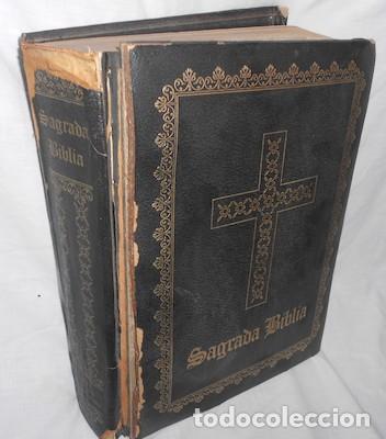 SAGRADA BIBLIA GUADALUPANA, TRADUCIDA DE LA VULGATA LATINA AL ESPAÑOL POR FÉLIX TORRES AMAT, 1965 (Libros de Segunda Mano - Religión)