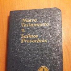 Libros de segunda mano: NUEVO TESTAMENTO, SALMOS Y PROVERBIOS DE LOS GEDEONES. Lote 166068864