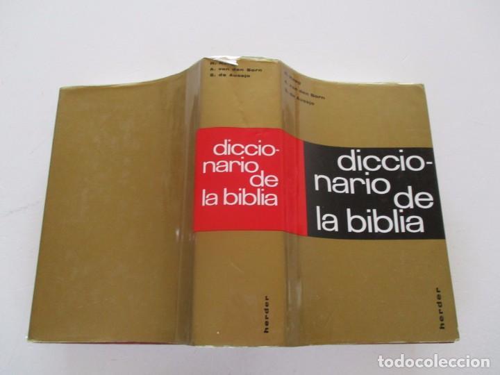 H. HAAG, A. VAN DEN BORN, S. DE AUSEJO. DICCIONARIO DE LA BIBLIA. RM82136. (Libros de Segunda Mano - Religión)